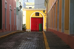 Old San Juan Stock Photo