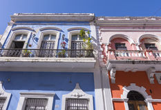 Old San Juan architecture Royalty Free Stock Images