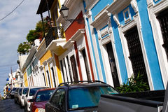 Old San Juan - Caribbean Colors! Royalty Free Stock Photos