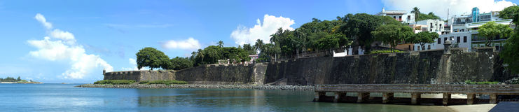 Old San Juan City Coast Royalty Free Stock Photo