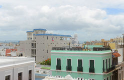 Old San Juan City Skyline, Puerto Rico Royalty Free Stock Images