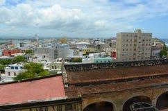 Old San Juan City Skyline, Puerto Rico Stock Images