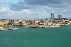 Old San Juan coastline Royalty Free Stock Photo