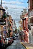 Old San Juan downtown Royalty Free Stock Photos