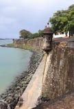 Old San Juan Paseo del Morro Royalty Free Stock Images