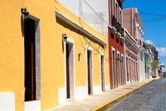 Old San Juan Puerto Rico Architecture royalty free stock photos