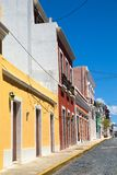Old San Juan Puerto Rico Architecture royalty free stock photo