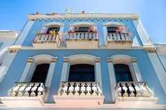 Old San Juan Puerto Rico Architecture stock image