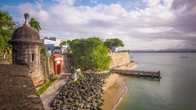 Old San Juan, Puerto Rico stock footage