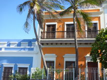 Old San Juan, Puerto Rico. Old San Juan Spanish: Viejo San Juan is the oldest settlement within Puerto Rico and the historic colonial section of the city of San royalty free stock photos