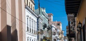 Old San Juan Street Stock Photos