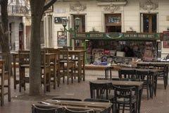 Old San Telmo Neighborhood in Buenos Aires, Argentina royalty free stock photos