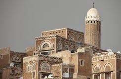 Old Sanaa buildingы - Yemen Royalty Free Stock Image