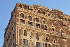 Old Sanaa building Stock Photos