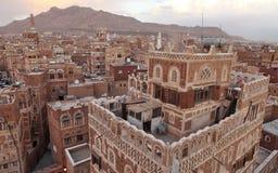 Old Sanaa building Stock Photo