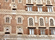 Old Sanaa building Royalty Free Stock Photography
