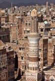 Old Sanaa buildings royalty free stock photos