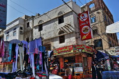 Old Sanaa market Royalty Free Stock Photography