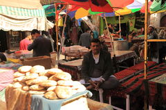 Old Sanaa market Stock Images