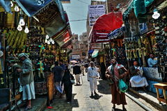 Old Sanaa market Royalty Free Stock Image