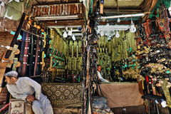 Old Sanaa market Royalty Free Stock Photos