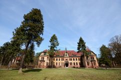 Old sanatorium for consumptives Stock Photography