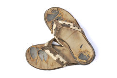 Old sandals Royalty Free Stock Image