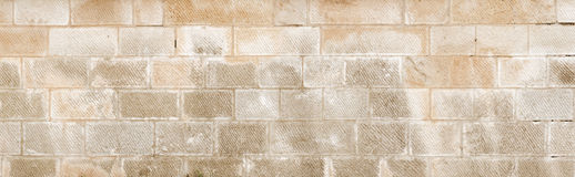 Old sandstone wall texture Royalty Free Stock Photos