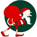 Old Santa Stock Photography
