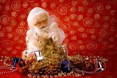 Old santa card Royalty Free Stock Photos