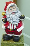 Old Santa Claus standing stock photo