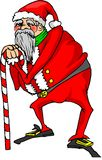Old santa claus Royalty Free Stock Images