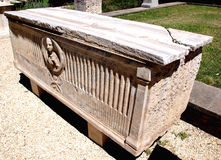 Old sarcophagus Royalty Free Stock Images