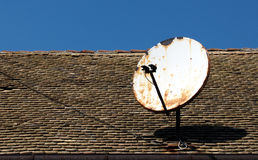 Old satellite dish Stock Image