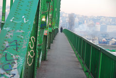 Old Sava  bridge in Belgrade Royalty Free Stock Images