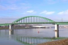 Old Sava Bridge Belgrade Stock Photo