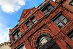 Old Savannah Cotton Exchange stock photo