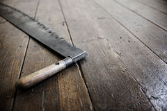 Old saw Stock Image