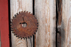 Old saw Stock Photos