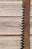 Old Saw Blade Royalty Free Stock Photos