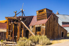 Old Saw Mill For Mining Ghost Town Stock Image