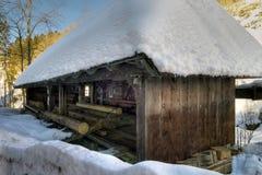Old sawmill Stock Photo