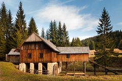 Old sawmill. royalty free stock images