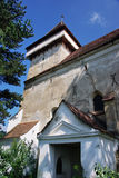 Old saxon fortified church Stock Photography