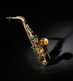 Old Saxophone Stock Images