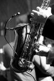 Old saxophone Stock Photos