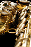 Old Saxphone Royalty Free Stock Photography
