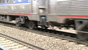 Old Saybrook Train Station (1 of 4) stock video footage