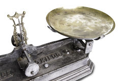 Old Scale Royalty Free Stock Photo