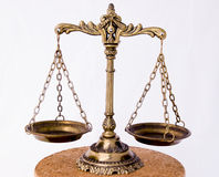 Old scales Royalty Free Stock Photos